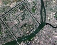 Bản đồ địa hình hiện chỉnh bằng ảnh vệ tinh