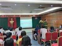 Tập huấn nghiệp vụ về công tác phòng cháy chữa cháy