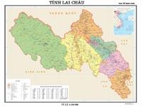 Hoàn thành và đưa vào sử dụng bản đồ hành chính kích thước 4 khổ A0 các tỉnh Hà Giang, Lai Châu, Sơn La